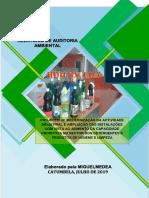 Relatório de Auditoria Ambiental Da Huilux 2019