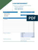 Copy of Billing-Invoice-template Service