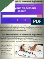 The Fundamentals Of Trademark Registration