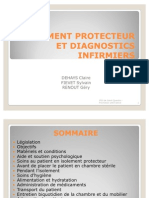 Isolement Protecteur Et Diagnostics Infirmiers