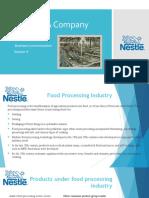 Industry Analysis Nestle