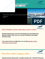 Hawaiian airlines reservations phone number+1-855-653-5007-  Hawaii