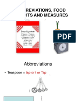Abbreviations Food Weights and Measures_1