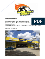 Updated Company Profile - Incredible Comet