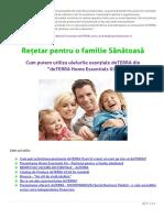 DoTERRA Retetar Pentru o Familie Sanatoasa 1