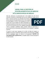 Manual Web Bolsa - Aportación de documentos V1.0