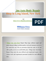 Village Line Auto Body Repair Shop in Long Island, New York