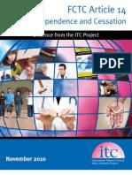ITC Cessation Report