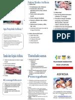Leaflet Penyuluhan Asfiksia