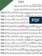 Hallelujah Arranjo Trombone