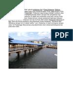 Pelabuhan Ketapang Adalah Sebuah Pelabuhan Feri Di Desa Ketapang