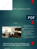 What Are the Amenities an Apartment Must-have