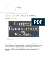 Unirea Basarabiei
