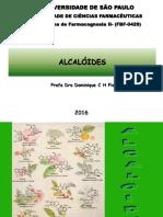 Alcaloides  2016