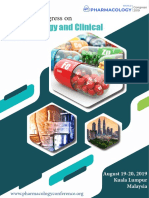 Brochure 3rd World Congress on Pharmacology and Clinical Trials