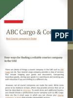 ABC Cargo & Courier