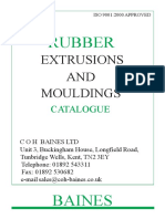 Rubber Extrusions Catalogue