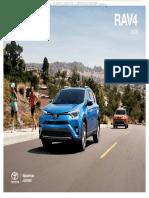 Catalogo Toyota Rav4 2016 Detalles Tecnicos