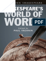 Shakespeare's World of Words