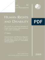 Gerard Quinn - Theresia Degener  Human rights and disability