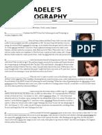 Adele Biography
