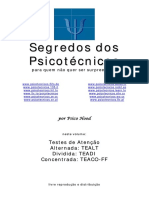 Segredos do psicoteste