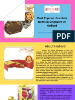 Most Popular Chocolate Treats at Hediard