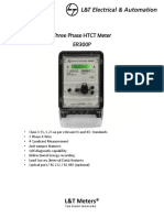Three Phase Htct Meter Er300p