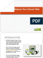 Six Tips to Reduce Your Cancer Risk