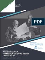 PUCE Maestria Psicologia Clinica Psicopatologia