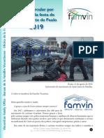 Superior Geral Pará la Familia Vicenciana -  fiesta SVP 2019