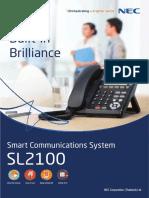 NEC SL2100 datasheet