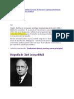 Autores en Psioclogía