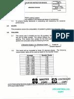 CID Grading System