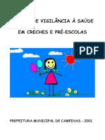 Manual de Vigilância à Saúde em Creches e pré-Escolas