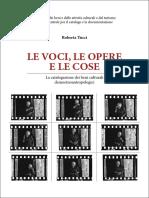 Iccd Tucci Le Voci Le Opere e Le Cose