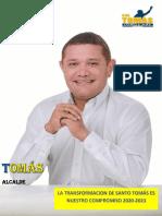 Plan de Gobierno Candidato de Santo Tomás
