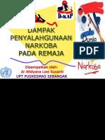 Dr.widya Dampak Narkoba Pada Remaja Ppt