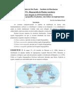 Fitogeografia - Estudo Dirigido Padroes de Distribuicao_2016