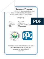 8 Action Research Proposal Heryanto Sinaga