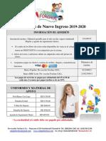 (Bw) Nuevos Estudiantes Informaciones de Admisión 2019 - 2020 (1)