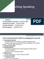 Group 3 Teaching Speaking