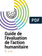 Guide de l'Évaluation de l'Action Humanitaire 2017