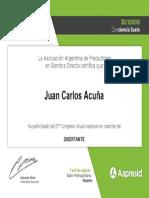 Acuña Juan c Congreso Aapresid 2019certificado_11403601