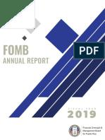 Informe de la JSF año 2019