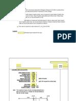 Gantry Girder Excel