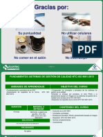 Fundamentos Iso 9001 2015