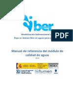 Manual calidad agua IBER