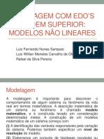 Modelos Não Lineares