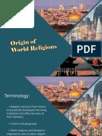 Origin of Religion l2